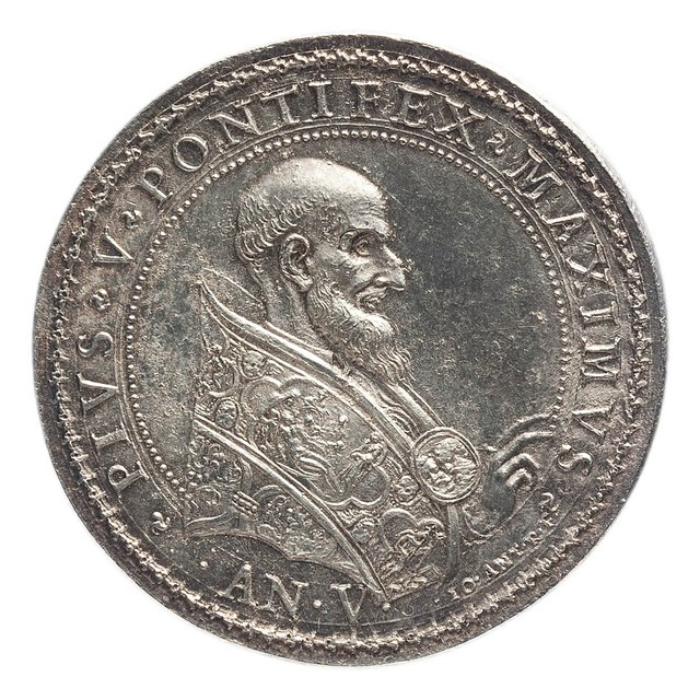 Drievoudig verbond van de Paus, de vrijstaat Venetië en Spanje tegen de Turken.