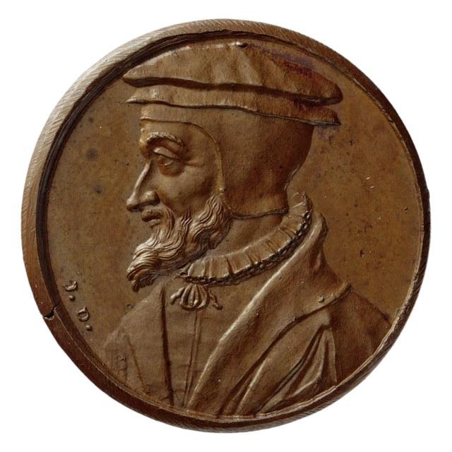 Petrus Viretus, Zwitsers theoloog werkzaam in Lion in 1571.