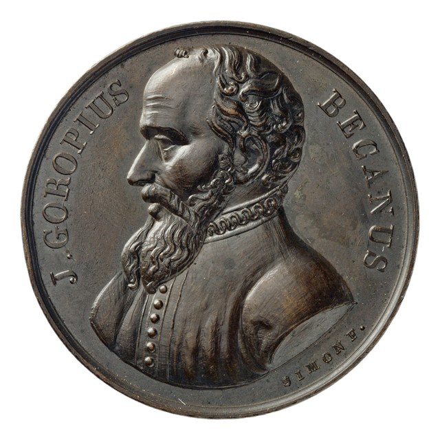 J.G. Becanus, schrijver van 'Origines Antwerpianae' (1572).
