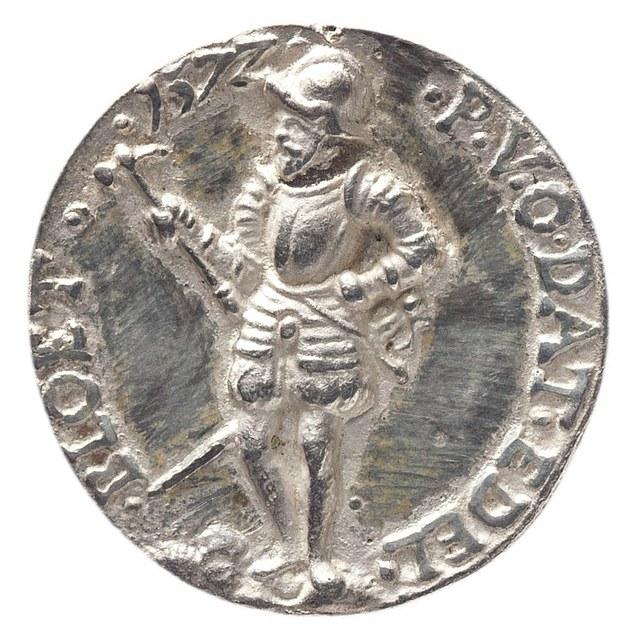 Bevrijding van de Nederlanders van de tiende penning, door prins Willem van Oranje.