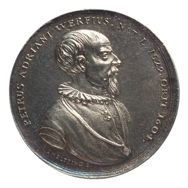 Pieter Adriaanszoon van der Werf, burgemeester van Leiden tijdens de belegering door de Spanjaarden.