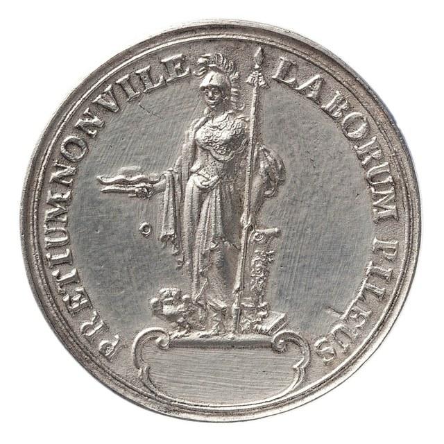 Promotie met de kap aan de Universiteit (Hogeschool 1575-) van Leiden.