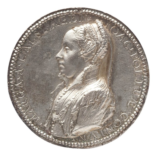 Margaretha van Kalslagen (Calslagen) (Coppier), echtgenote van Joachim Polites en later van Willem Martini, griffier van de stad Antwerpen.