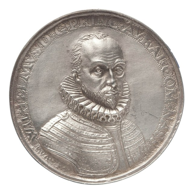 Aanvaarding van het hoge staatsbewind door Willem van Oranje (prins Willem I).