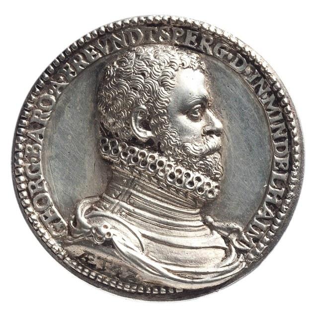 Inname van Antwerpen (Spaanse Furie) door de Spaanse troepen en het Duitse vendel onder leiding van George, baanderheer van Frondsberg en heer van Mindelsheim.