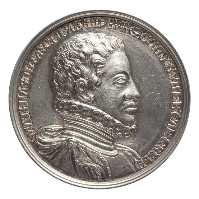 Inhuldiging van Mathias, aartshertog van Oostenrijk, tot landvoogd en algemeen legerhoofd van de Nederlanden.
