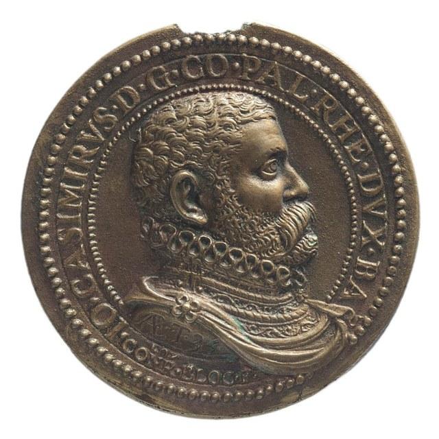 Paltzgraaf Johan Casimir, bevelhebber der Staatse troepen en hertog van Beieren.