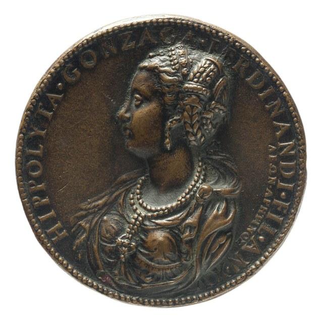 Hippolyta Gonzaga, zuster van Octavus Gonzaga, bevelhebber van de Spaanse troepen in de Nederlanden.