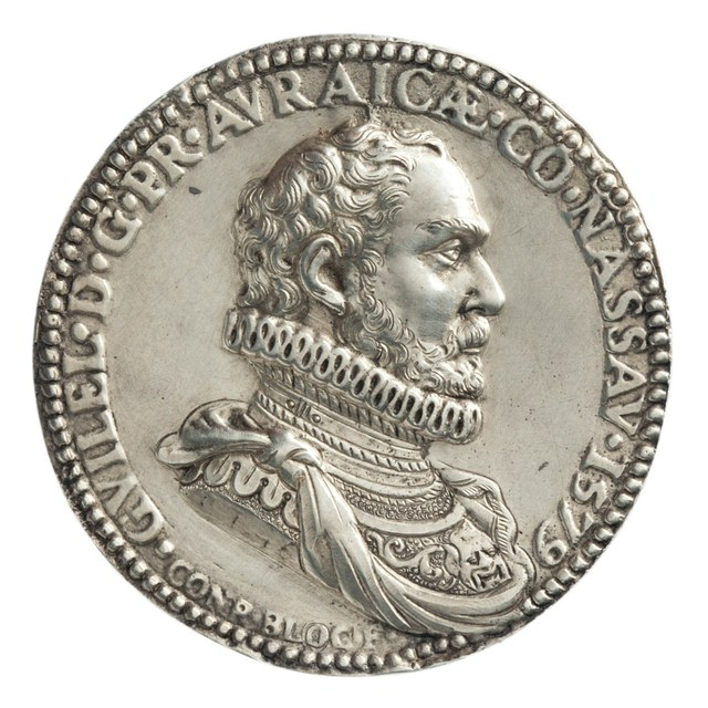 Prins Willem van Oranje (Willem I) en zijn echtgenote Charlotte de Bourbon.