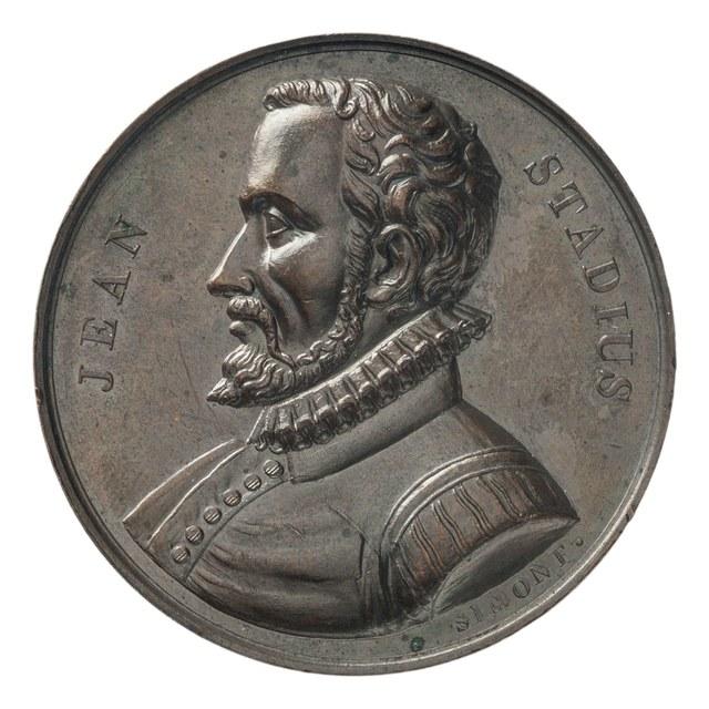 Jean Stadius, mathematicus geboren te Loenhout (1527-1579).