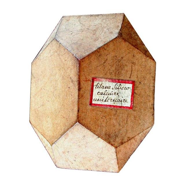 Kristalmodellen Haüy