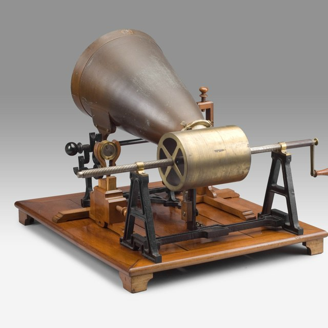 Phonautograph, after Leon Scott