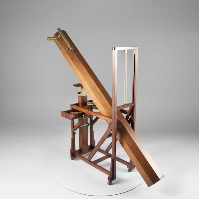Zevenvoets-spiegeltelescoop, naar Isaac Newton