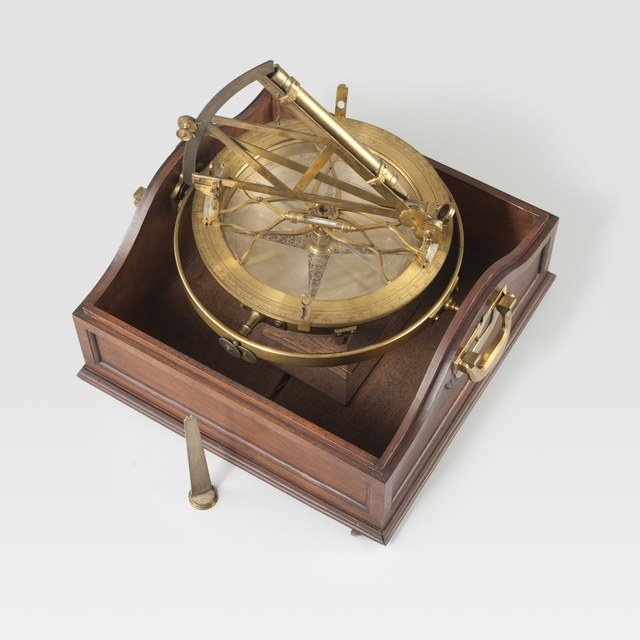 Azimuth compass with octant