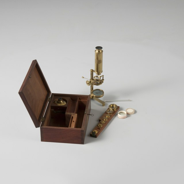Compound microscope, after George Adams