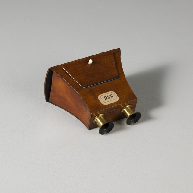 Stereoscope, after David Brewster (1849)
