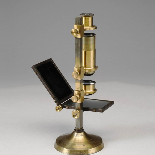 Polarization microscope, after Amici