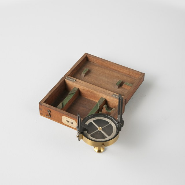 Prismatic compass, after Charles Schmalcalder (1812)