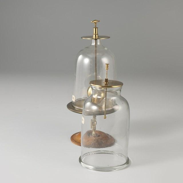 Discharge bell-jars