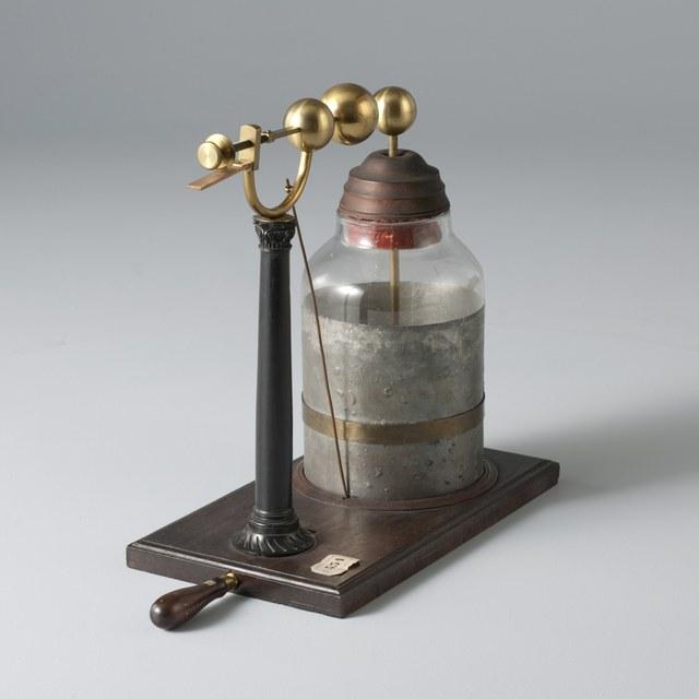 Van Marum's Maatflesch (measuring flask), after Thomas Lane