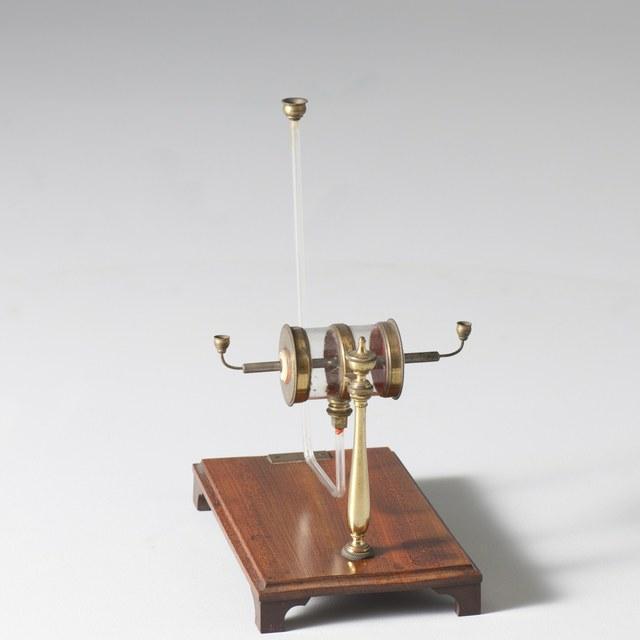 Elektrische thermoscoop, naar W. Snow Harris (1827)