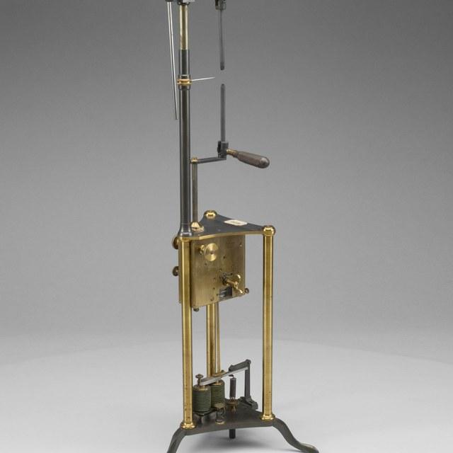 Electric arc lamp, after Foucault
