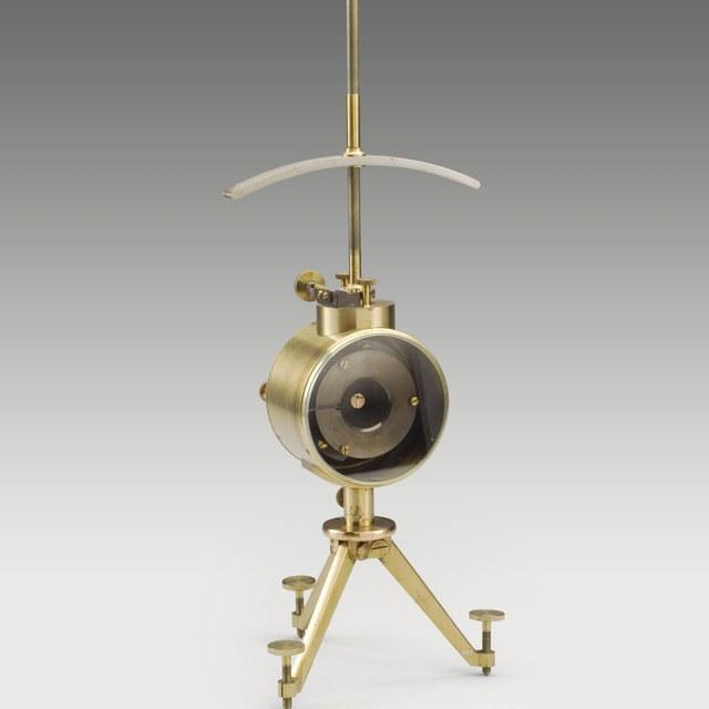 Mirror galvanometer, after Thomson