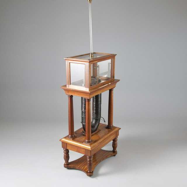 Elektromagneet, naar M. Faraday (1845)