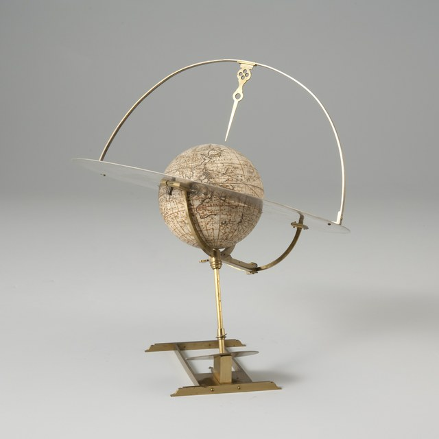 Terrestrial globe, + Horizontal ring & stand