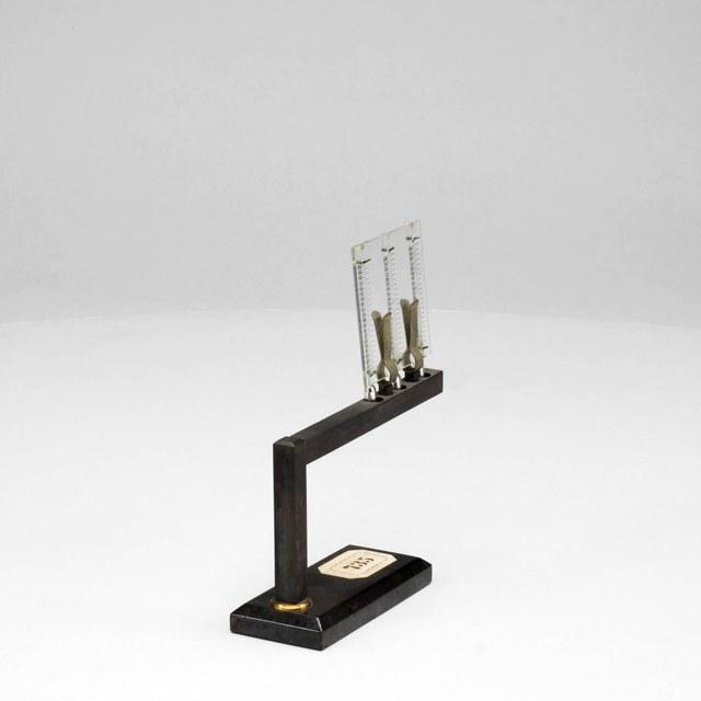 Device to demonstrate heat conductivity, after Despretz