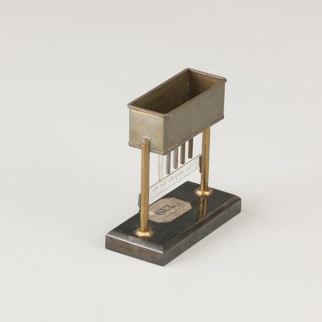 Conductivity of heat apparatus after Stoehrer