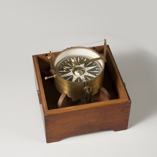 Azimuth compass, after Kenneth McCulloch (1788)