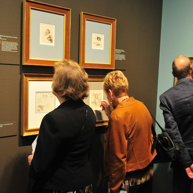 Guided Tour of an Exhibition