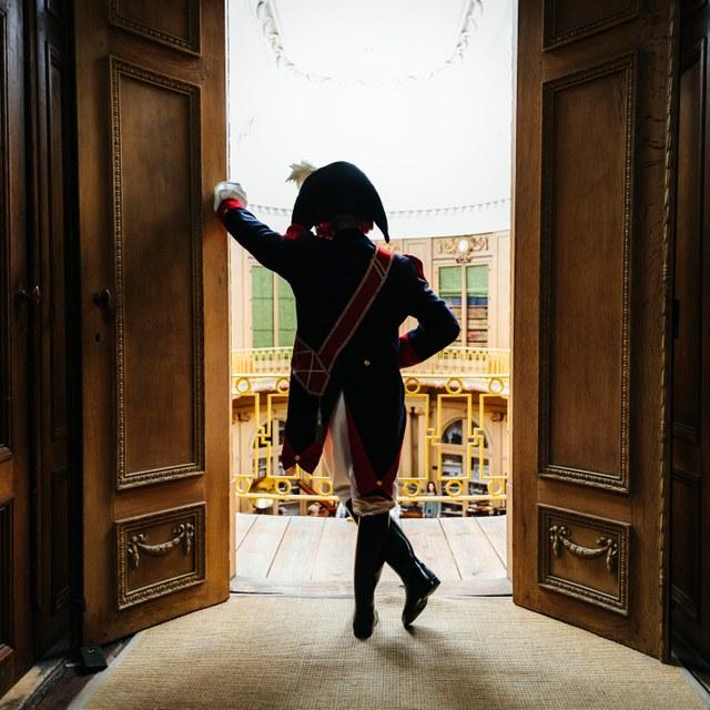 Napoleon's visit to Teylers Museum
