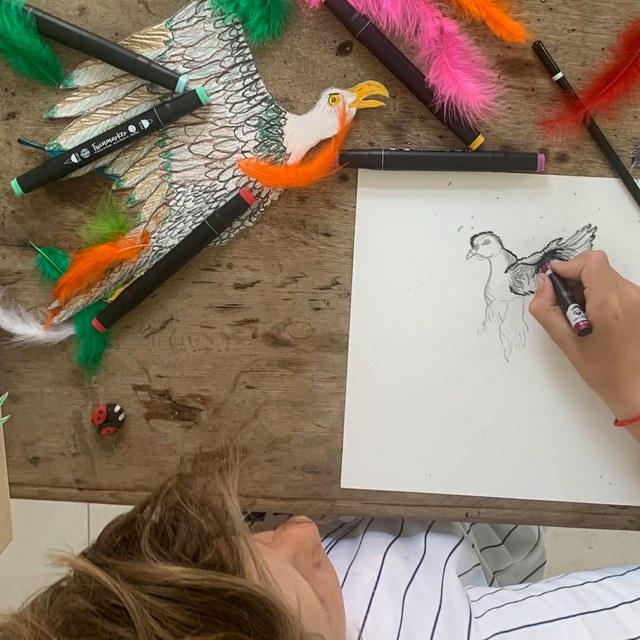 Workshops Kunst en Vliegwerk