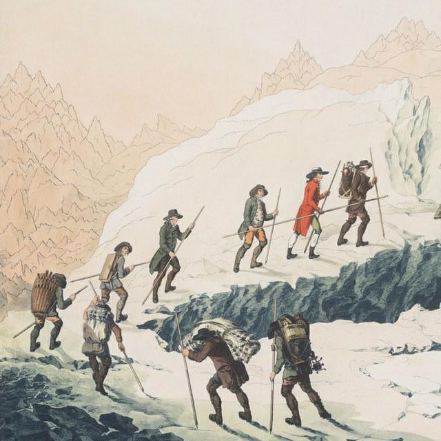 Naar de top van de Mont Blanc