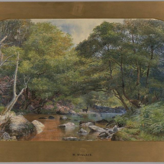 Alleen in het atelier: J.W. Millais