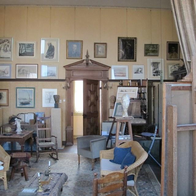 Een verborgen atelier