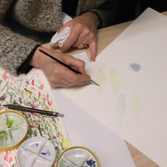 Botanisch tekenen met Anita Walsmit Sachs