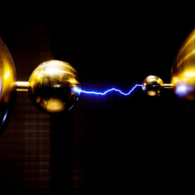 Demonstratie Grote Elektriseermachine