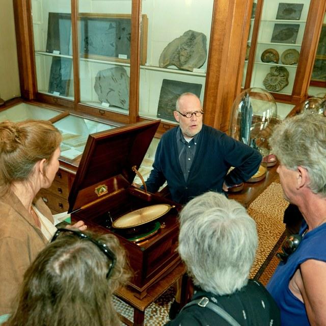Demonstratie oude instrumenten