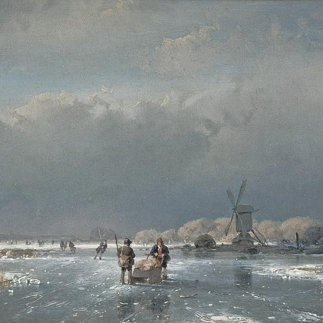 Lezing De barre winter van 1890-91