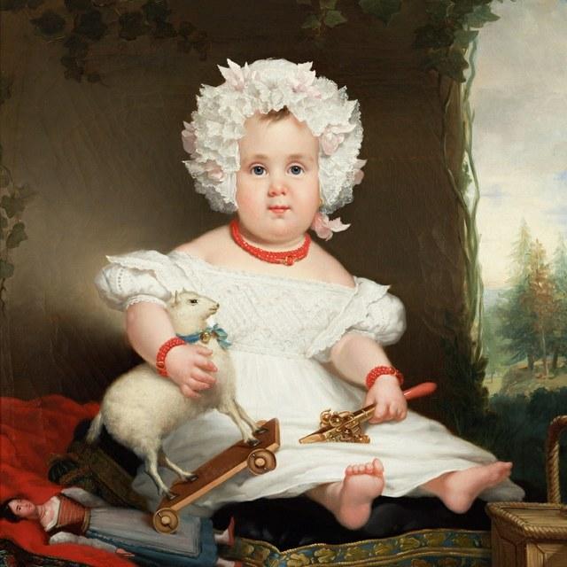Kinderen in de kunst en kinderen in de echte wereld