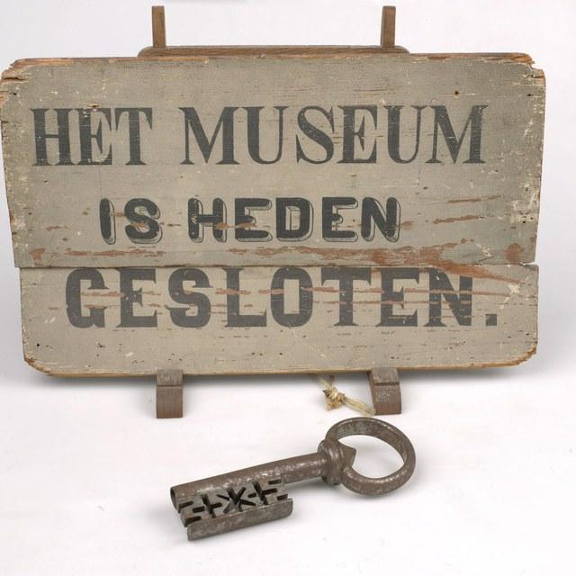 Teylers Museum gesloten
