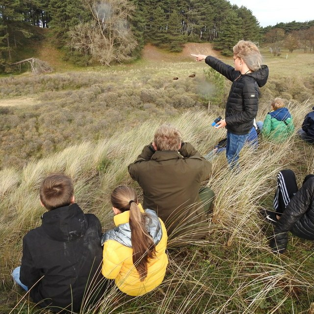 Vogelexcursie met de Jeugdvogelclub Zuid-Kennemerland