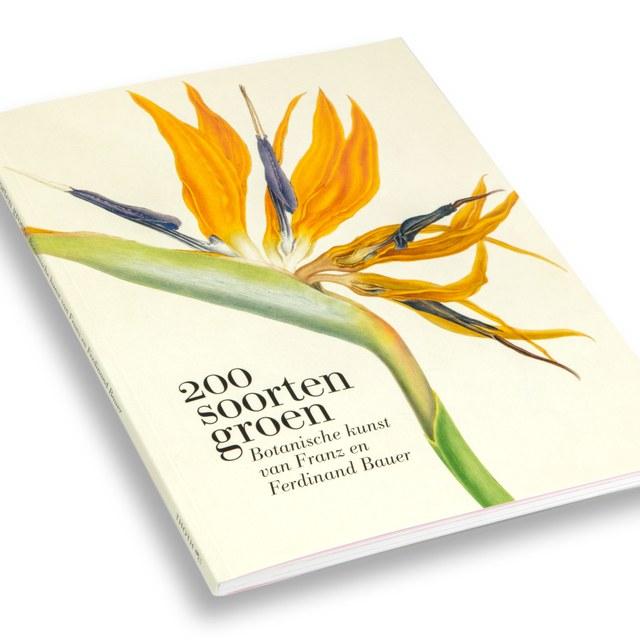 200 soorten groen, Botanische kunst van Franz en Ferdinand Bauer