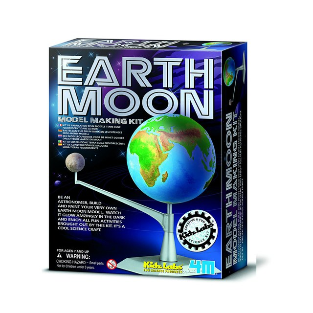 Kidzlab Earth Moon kit