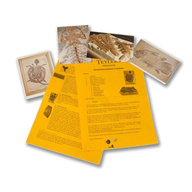 Spreekbeurt pakket fossielen