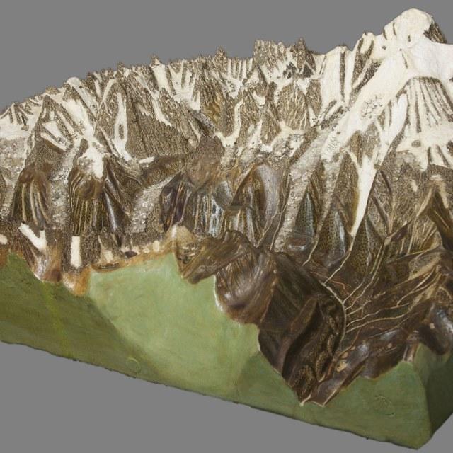 Maquette Mont Blanc
