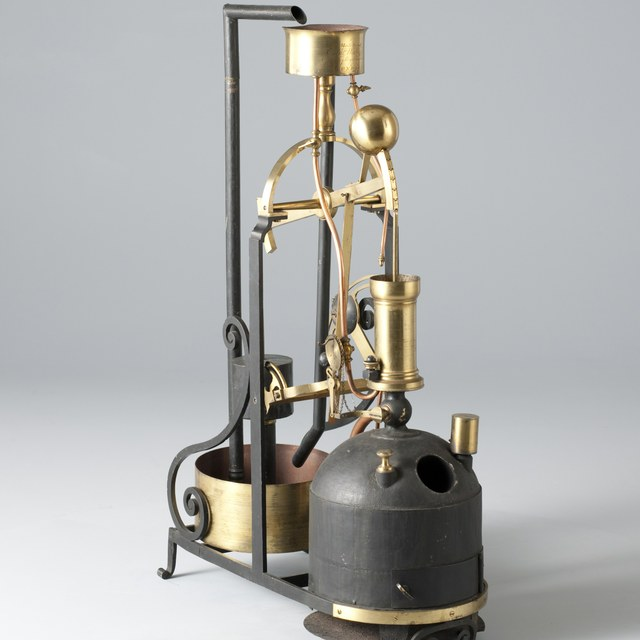 Model atmosferische stoommachine